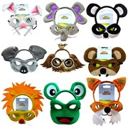 Animal Headband & Mask Sets - Group 2