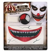 Evil Clown Make Up Kit