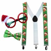 Santa Pizza Goofy Christmas Accessories Kit