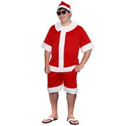 Aussie Summer Santa Costume - Adult
