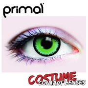 Primal Green Werewolf Costume Contact Lenses