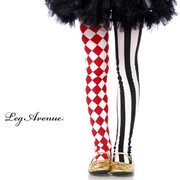 Harlequin Print Tights - Child
