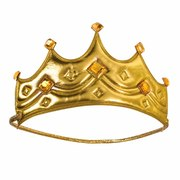 Gold Soft Crown - Child Size