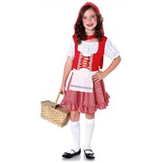Lil Miss Red Riding Hood Costume - Child