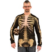 Faux Real Skeleton Shirt - Adult Large (Seconds)