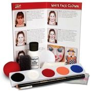 Mehron Character Makeup Kit Clown