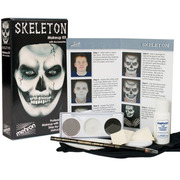 Mehron Character Makeup Kit - Skeleton