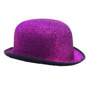 Bowler Hat - Tinsel Purple
