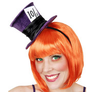 Mini Mad Hatter Hat - Purple