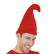 Gnome Smurf Hat Red