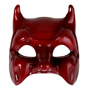 Diavolo/Devil Glossy Red Eye Mask