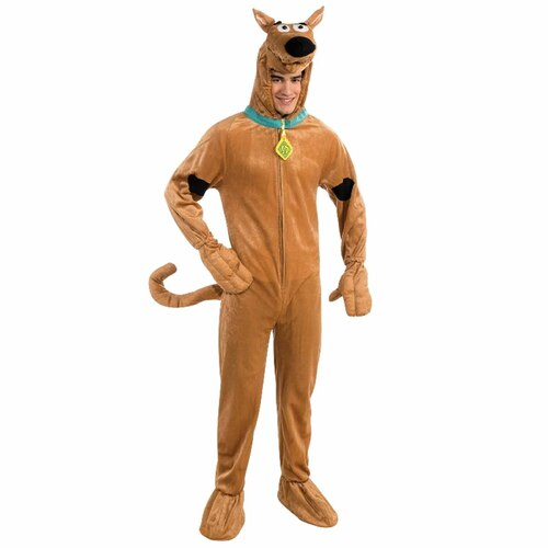 Scooby Doo Deluxe Costume - Adult Standard Size
