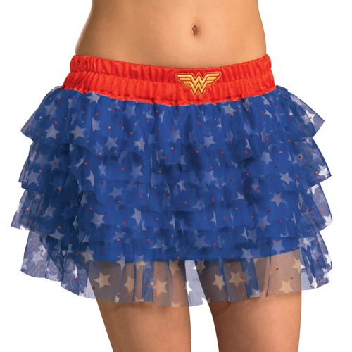 Wonder Woman Skirt with Sequins - Standard Size