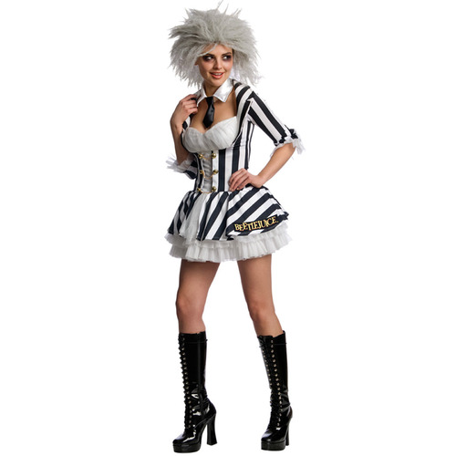 Mrs Beetlejuice Costume - Womens Adult - Medium