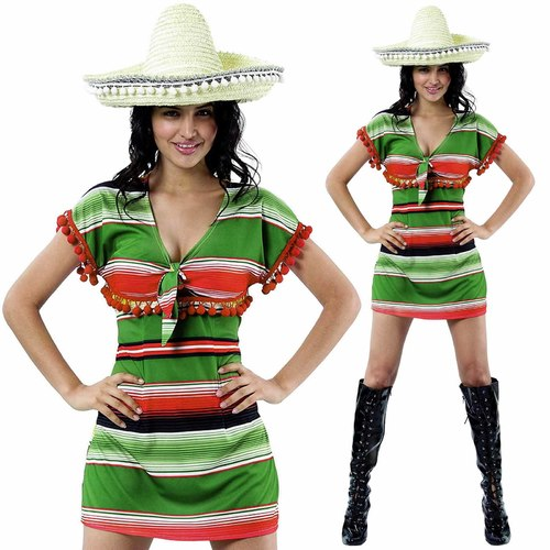 Mexican Dress Costume - Adult